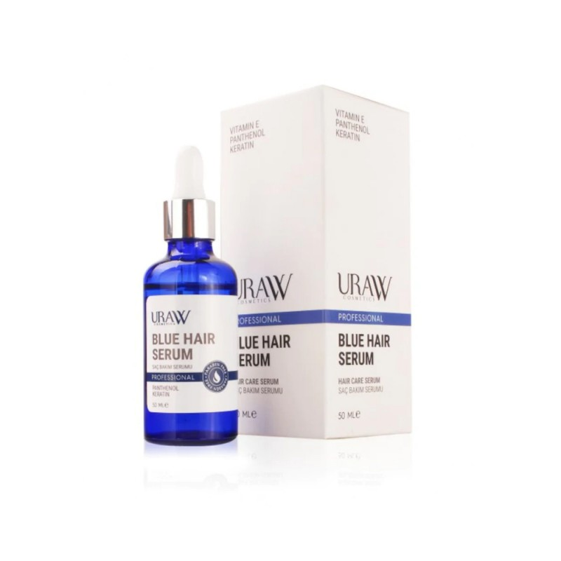Uraw Cosmetics Blue Hair Serum (Mavi Serum) 50 ml